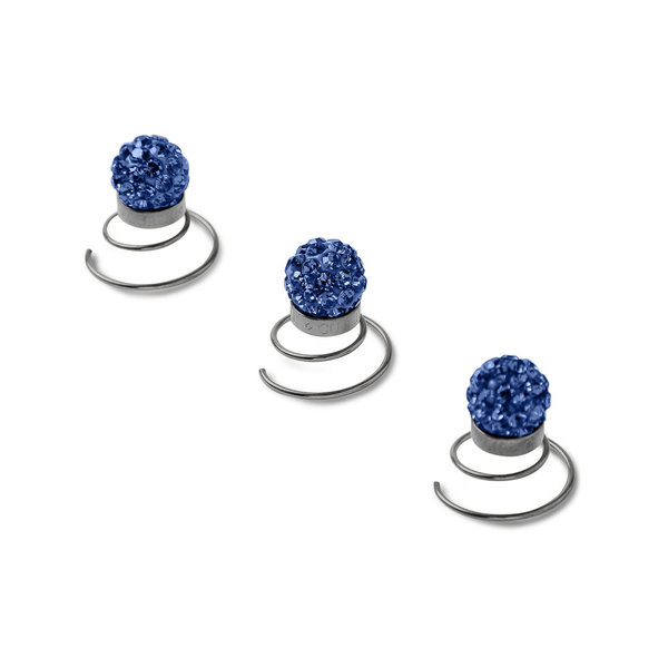 Strass CURLII Royal Blau ANTIK Edition